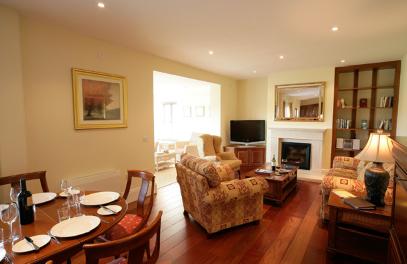 Interior of unit at Adare Manor Limerick.