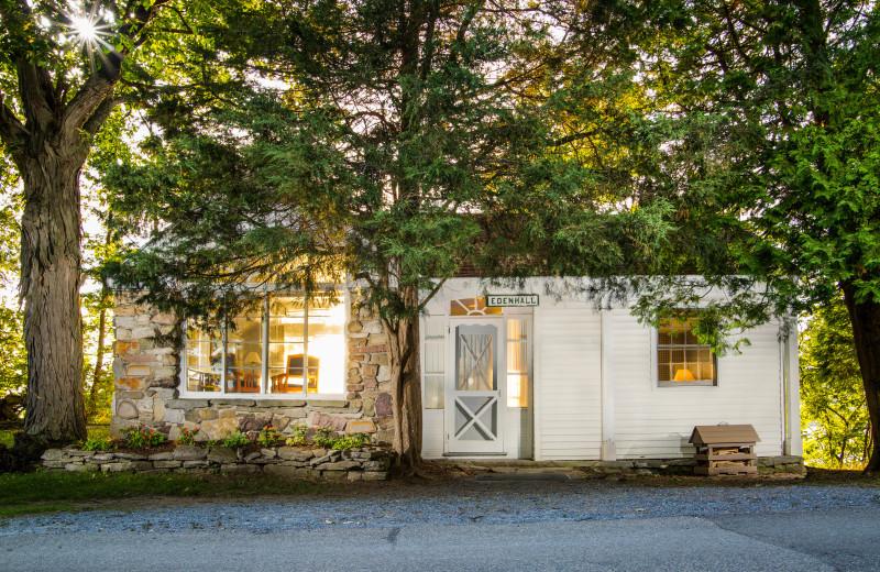 Cottage Exterior at Basin Harbor.