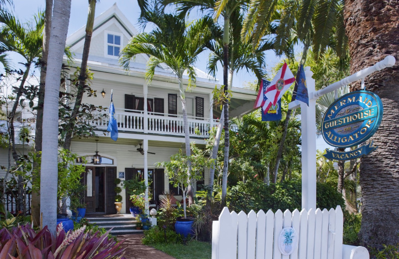 Exterior view of Mermaid & Alligator Key West.
