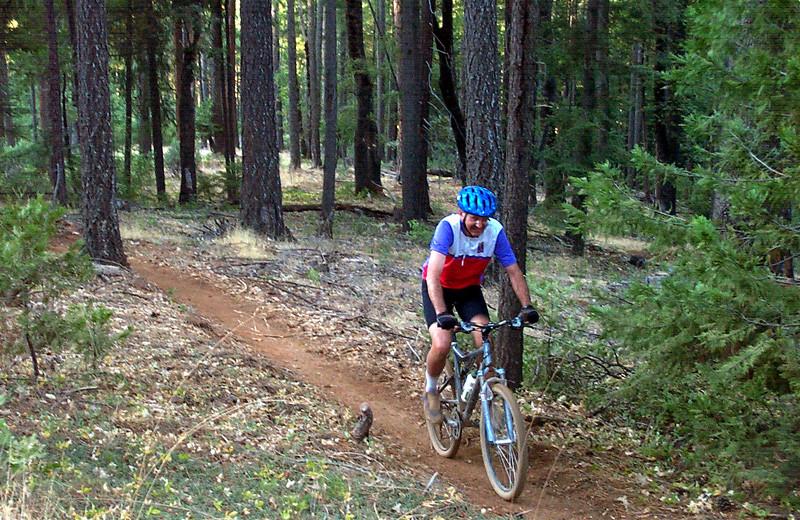 Mountain Biking at Silver Creek Plunge