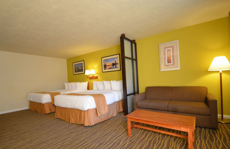 Guest Room at Quality Inn & Suites Coos Bay