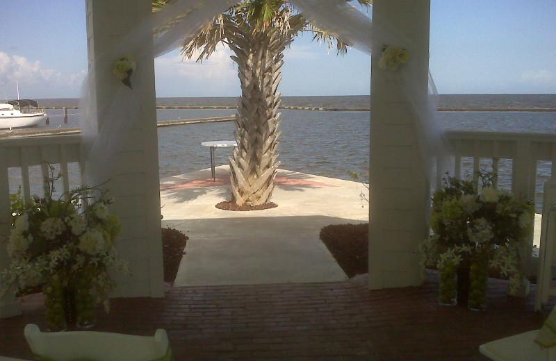 Wedding at The Lighthouse Inn at Aransas Bay