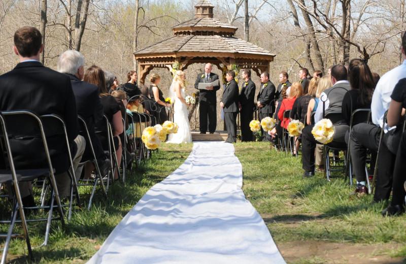 Wedding at Riverwood Resort.