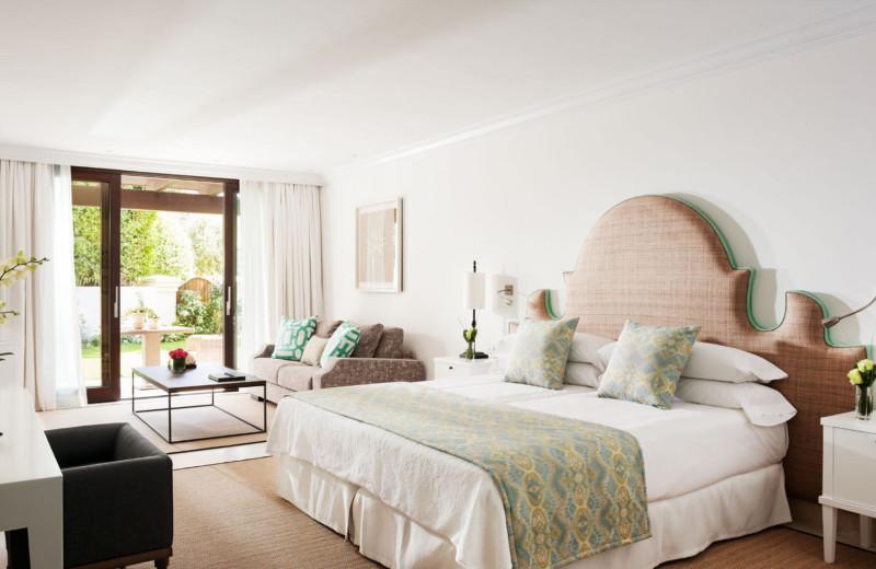 Guest room at Marbella Club Hotel, Golf Resort & Spa.