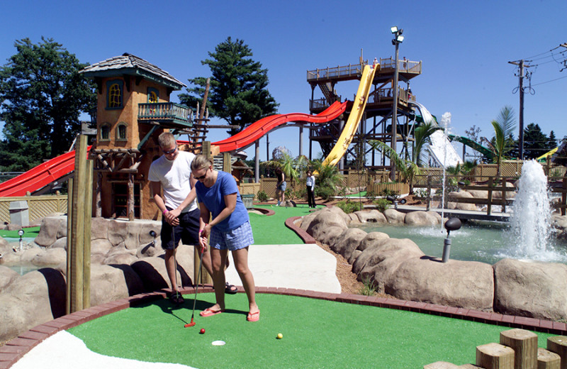 Mini golf at Chula Vista Resort.