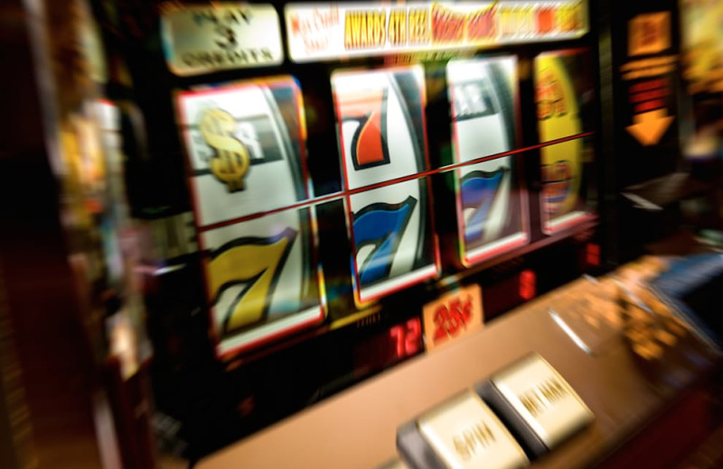 Casino at Holiday Beach Hotel & Casino.
