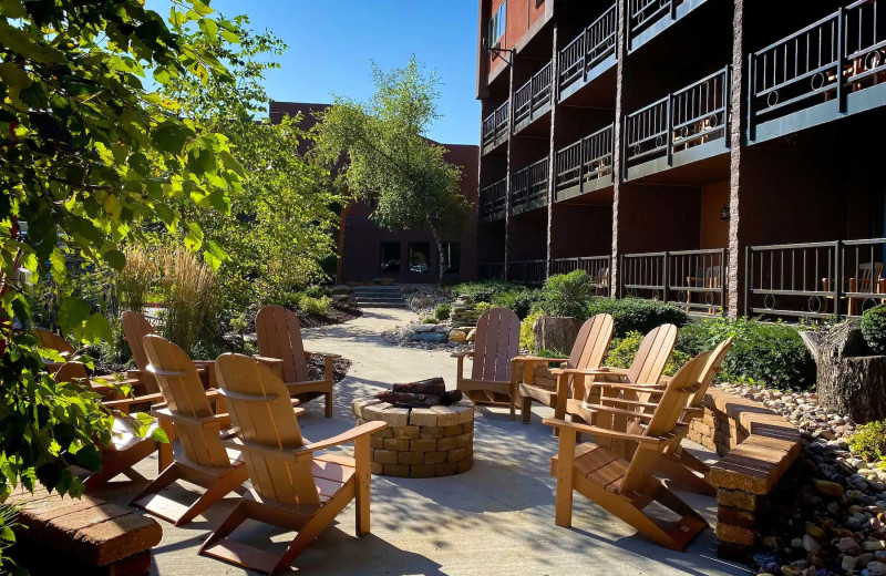 Patio at Chula Vista Resort.