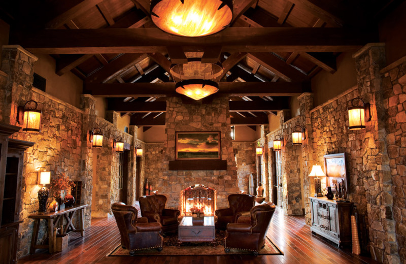 Lobby at Pronghorn Resort.