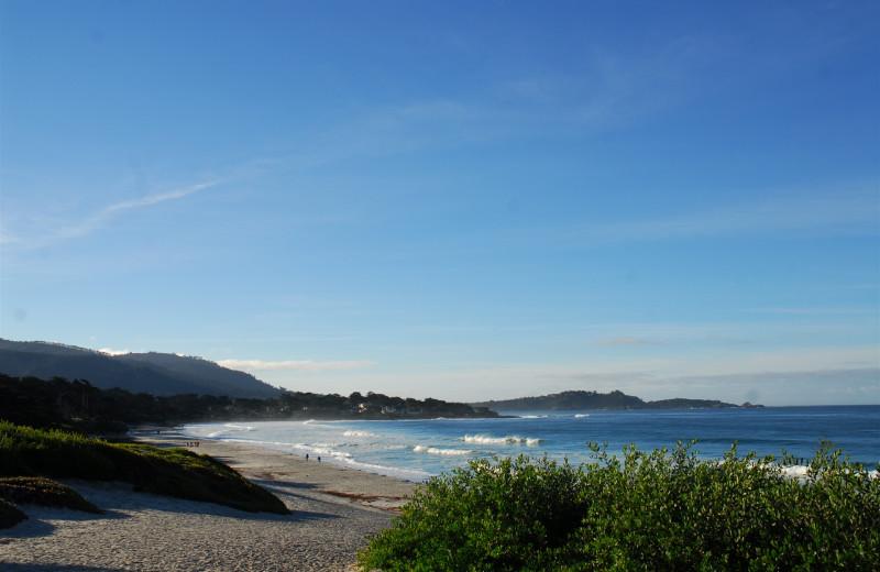 Beautiful beaches near Carmel Lodge.