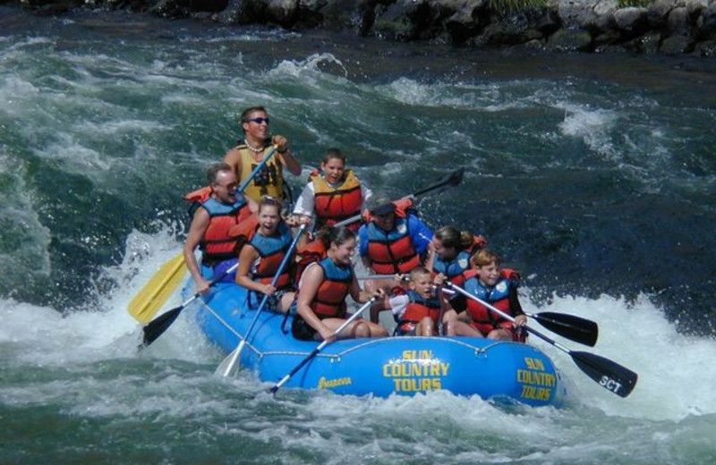 Rafting at Black Butte Ranch.