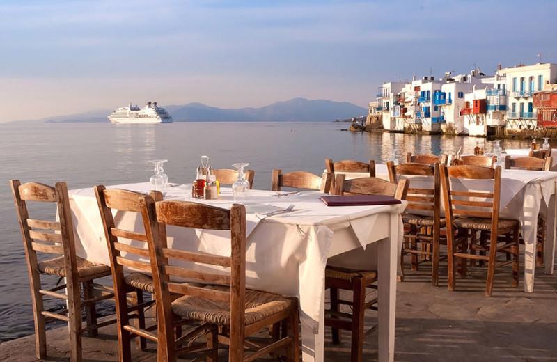 Restaurant near Grecotel Mykonos Blu.