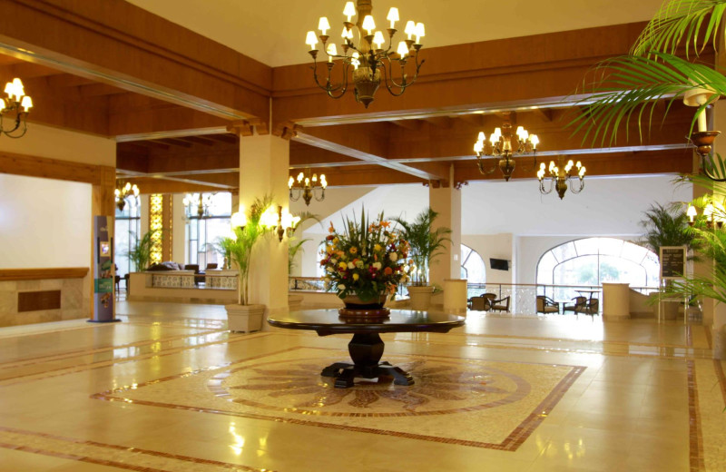 Lobby at Royal Solaris - Los Cabos.