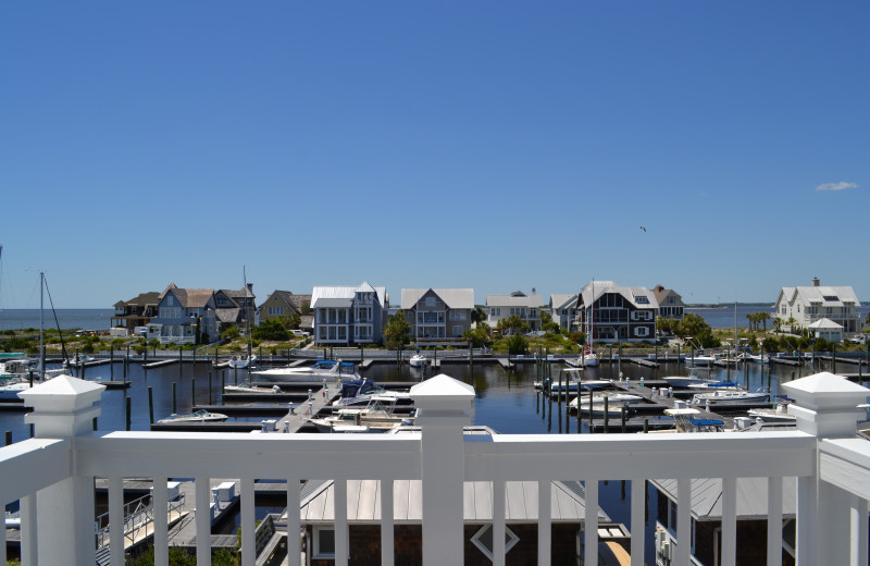 Balcony view at The Inn at Bald Head Island.