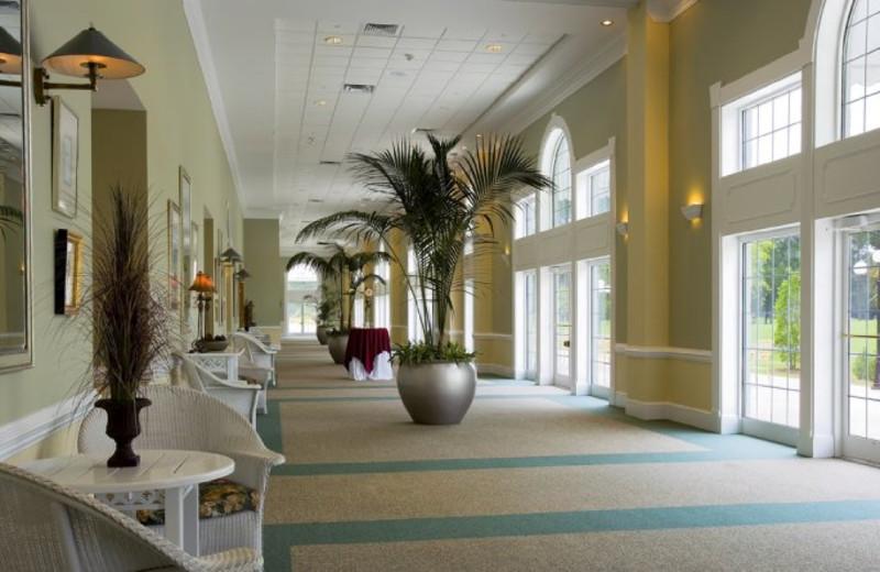Promenade Hall at Sea Trail Resort.