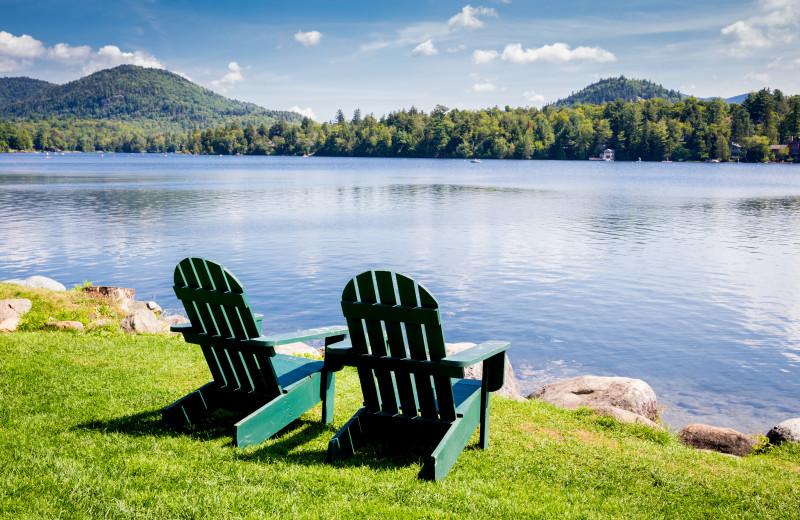 Lake near Woodlake Inn.