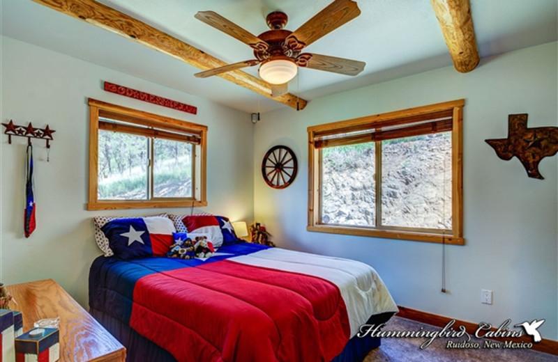 Bedroom at Hummingbird Cabins - Bear Crossing Vacation Rental
