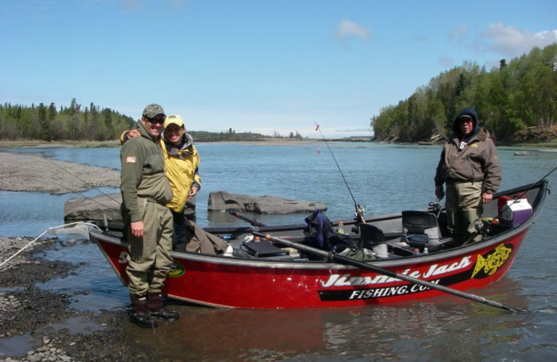 Fishing at Jimmie Jack's Alaska Fishing Lodges.