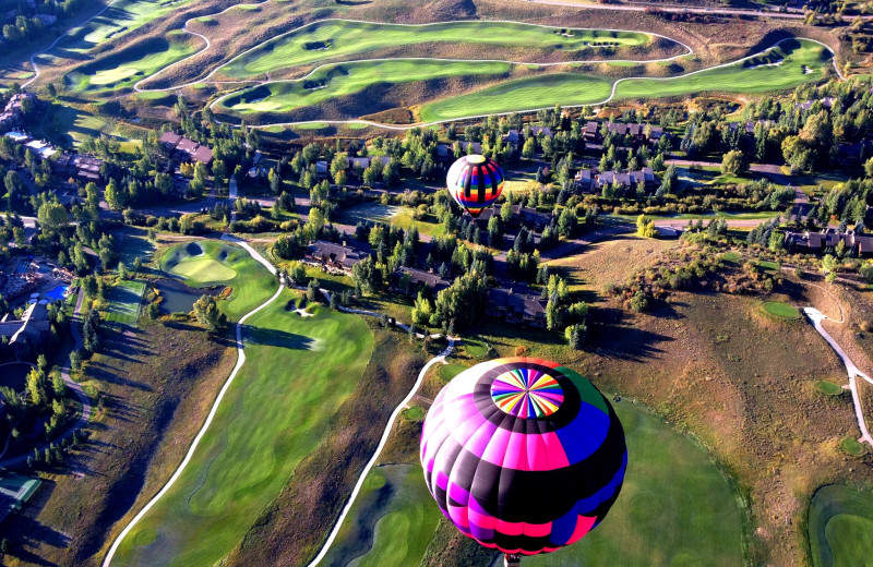 Balloon ride at The Crestwood.