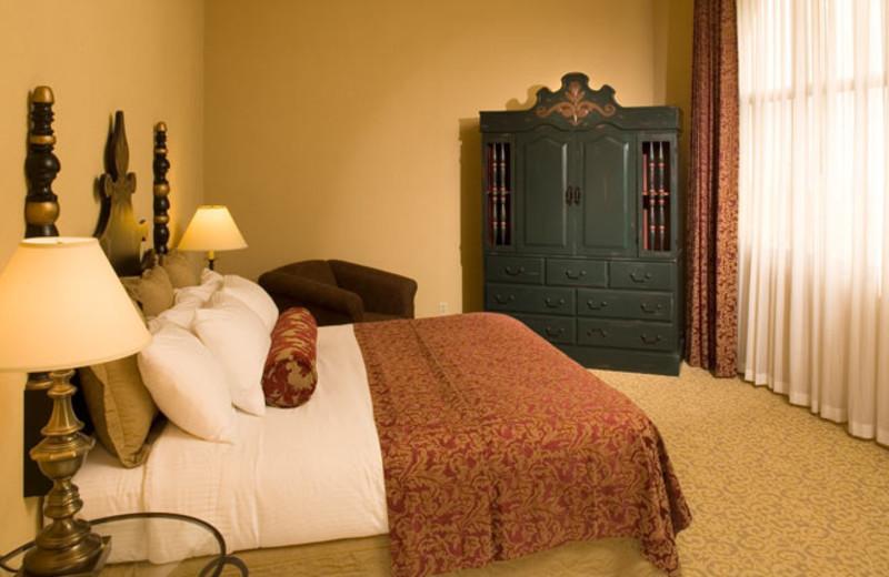 Guest room at Hotel Encanto.