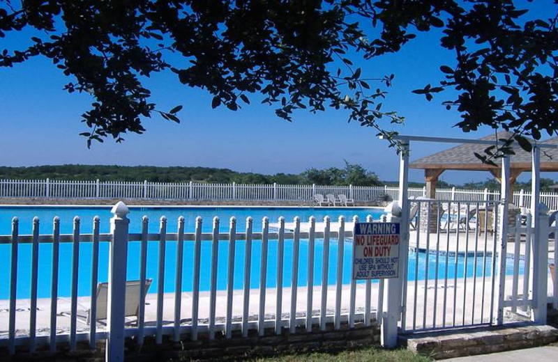 Outdoor pool at Silver Spur Guest Ranch.