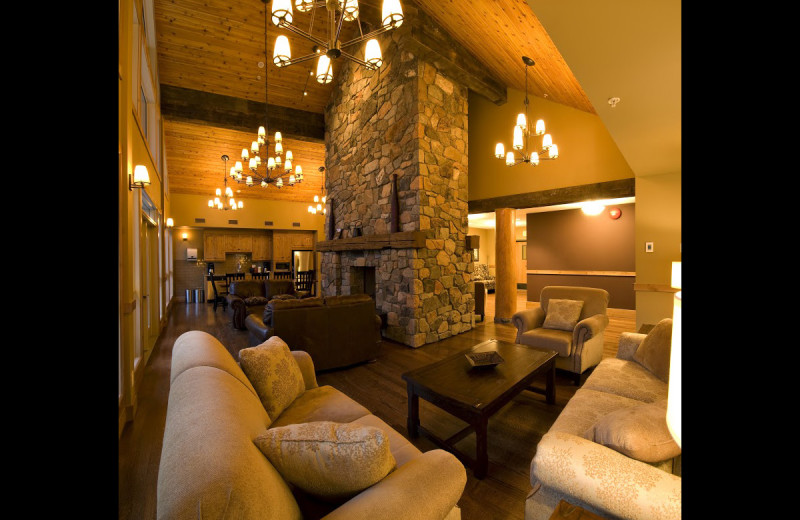 Lobby at RockRidge Canyon Camp & Conference Center.