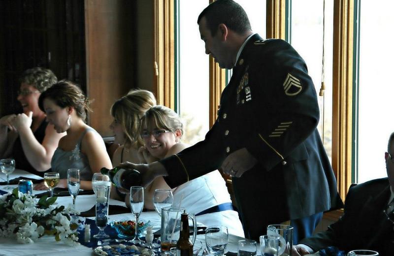 Wedding at Granite Springs Lodge.