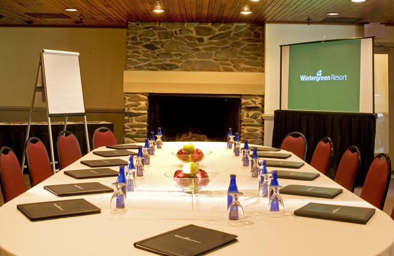Meetings at Wintergreen Resort.