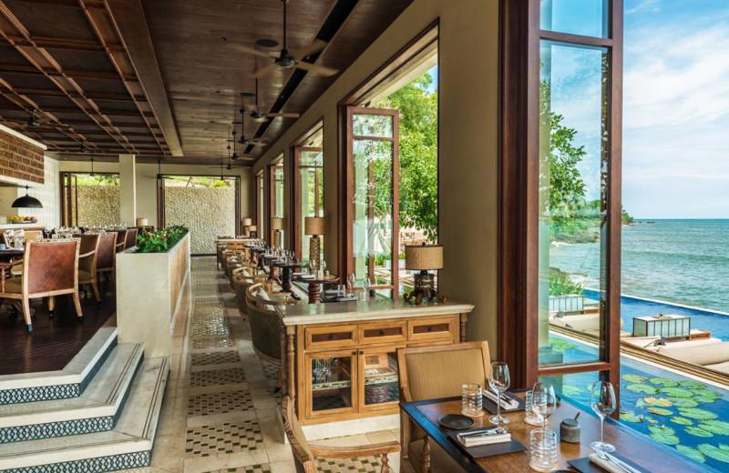 Dining at Four Seasons Resort - Bali at Jimbaran Bay.