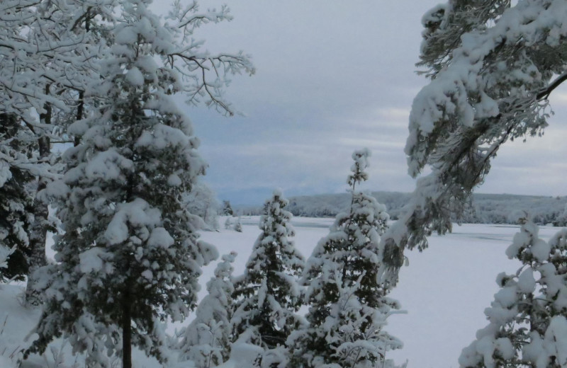 Winter time at Westwind Inn on the Lake.