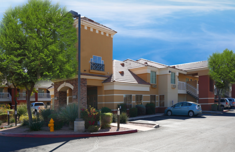 Exterior view of Extended Stay America Phoenix - Chandler.