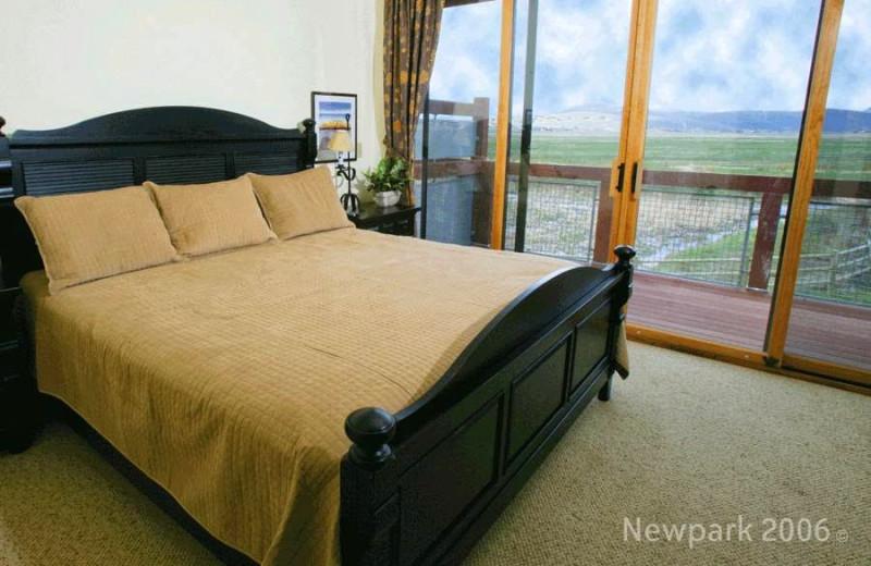 Guest room at Newpark Resort.