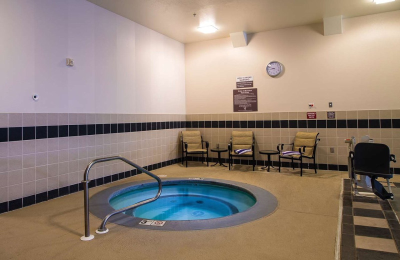 Hot tub at Best Western Helena Great Northern Hotel.