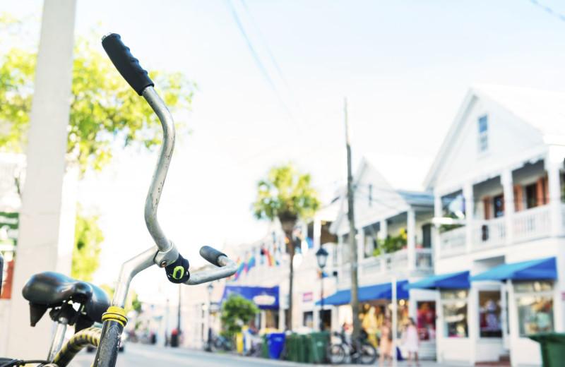 Biking at Oceans Edge Key West Resort & Marina.