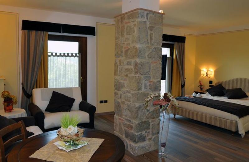 Guest room at La Torricella.