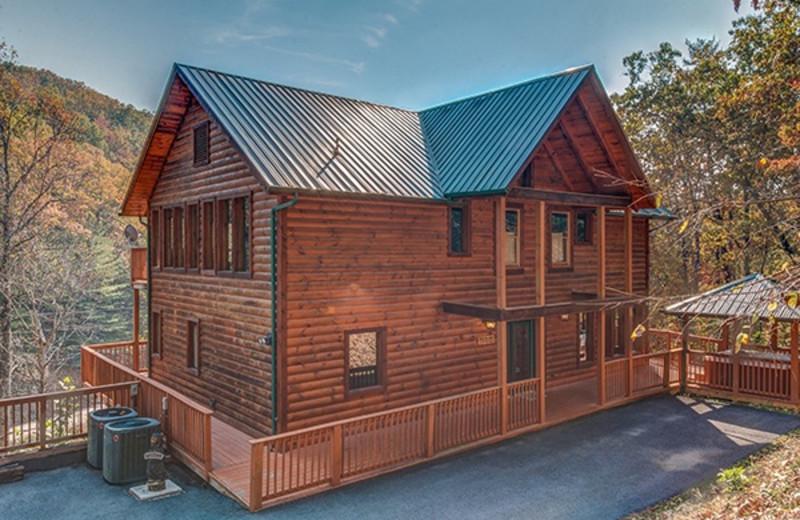 gatlinburg american rental cabins getaways pin ren rentals patriot cabin