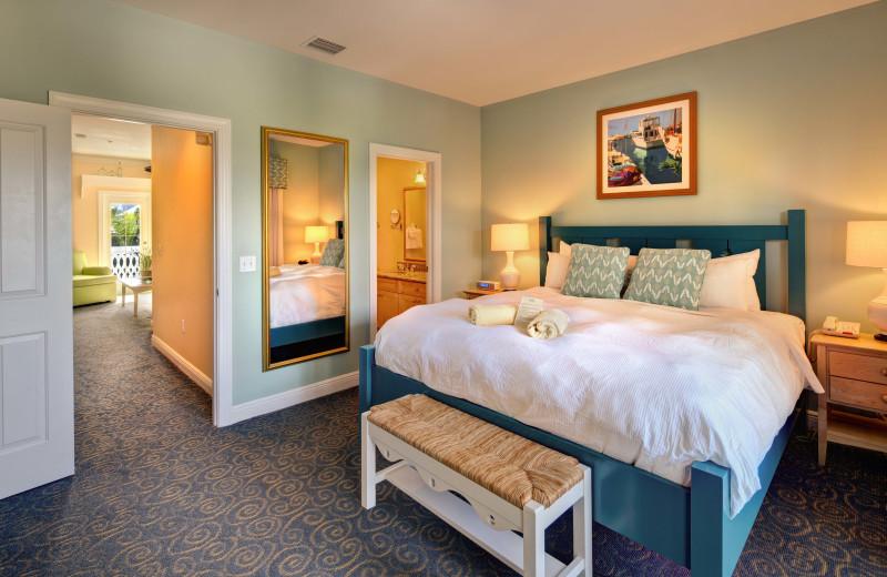 Guest room at Parrot Key Resort.