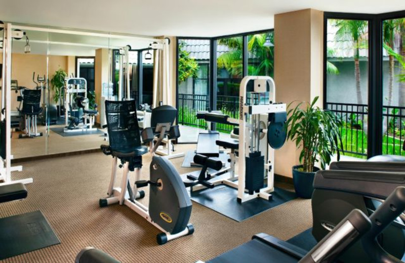 Fitness Center at Crowne Plaza Costa Mesa OC