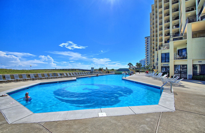 Rental pool at Gulf Coast Beach Getaways.