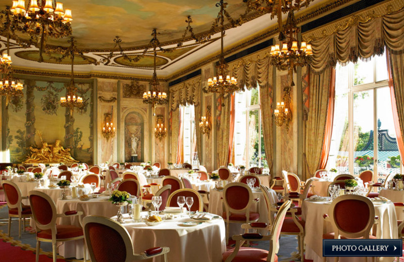 Dining at The Ritz London.