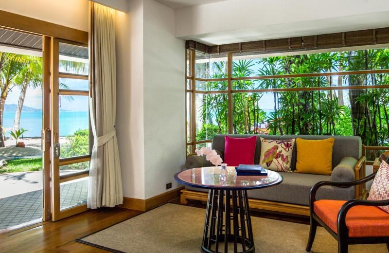 Guest room at Santiburi Resort.