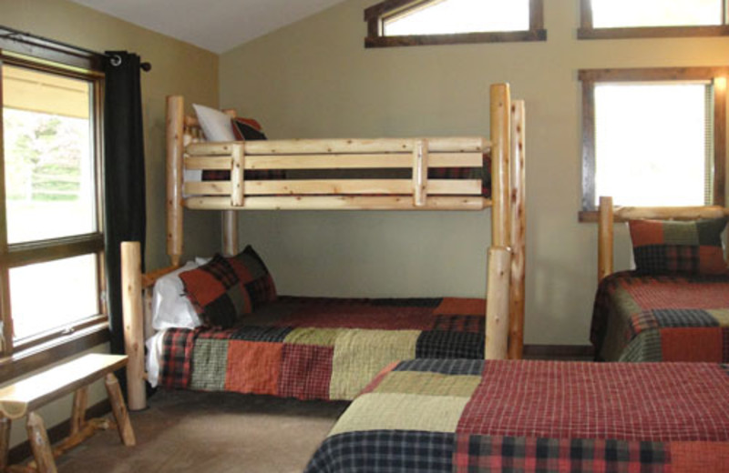 Guest room at Sugarbush Lodge.