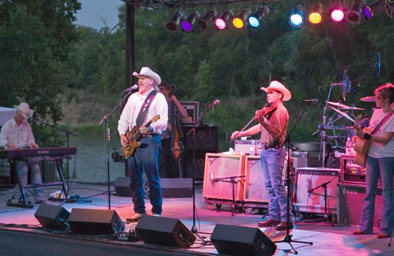 Concert at Hyatt Regency Lost Pines Resort and Spa.