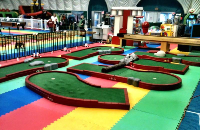 Fun zone at Smugglers' Notch Resort.