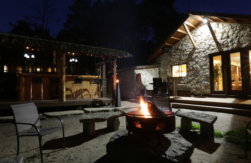 Nightly campfire by the Cabana and Lounge, as weather permits. Free firewood!