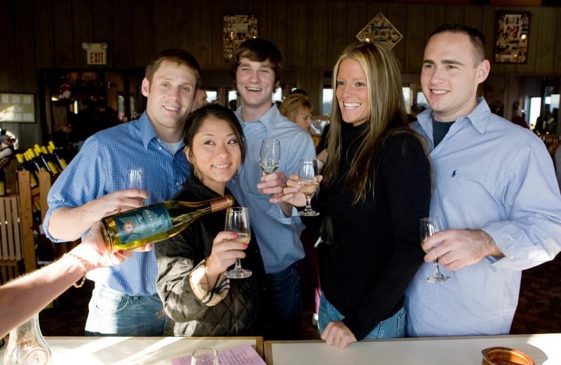 Group at Inn at Glenora Wine Cellars.