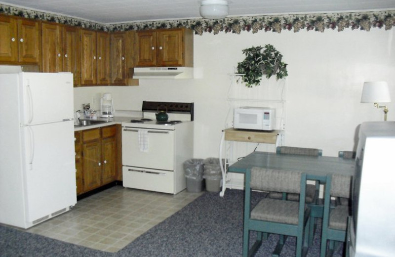 Suite Interior at River View Resort
