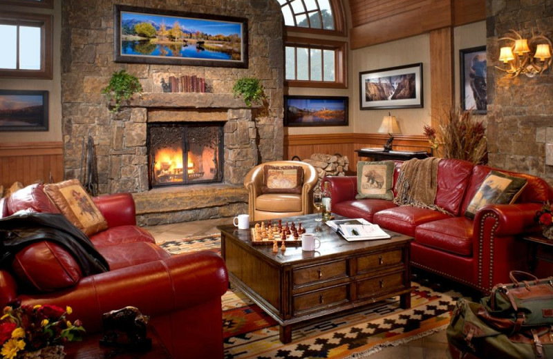 Lobby at Wyoming Inn of Jackson Hole.