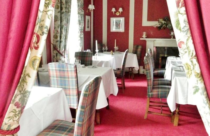 Dining at Killiecrankie Hotel.