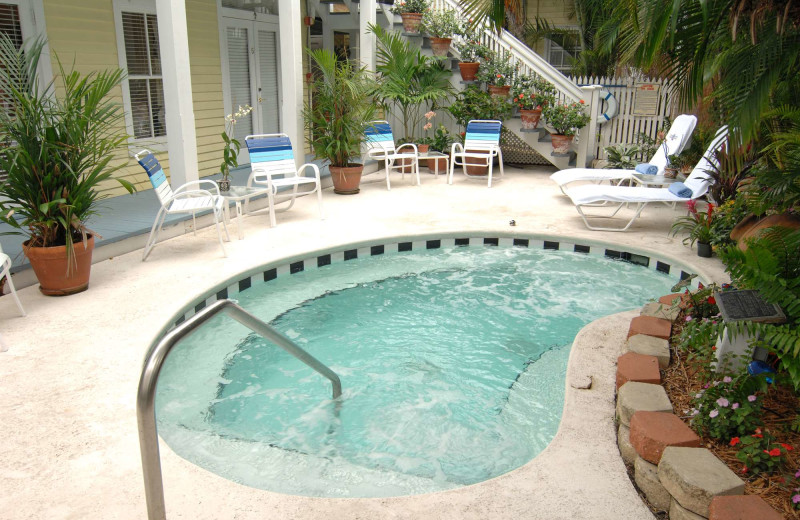 Outdoor pool at The Heron House & Heron House Court.