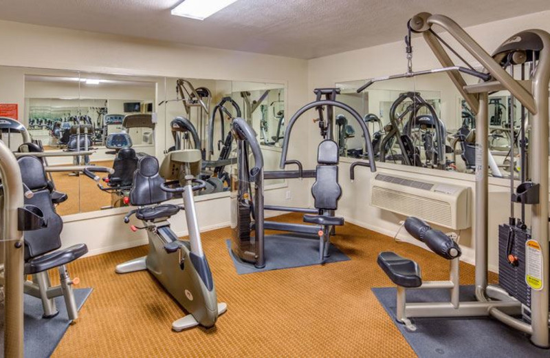 Fitness Center at Days Inn Palm Springs